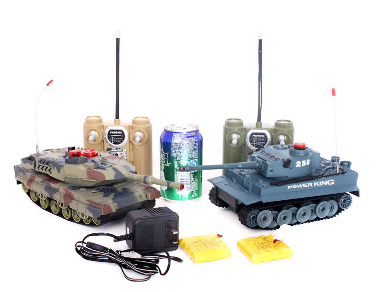 2pcs/Set 8ch rc tank HQ 508-10 battle large scale rc tanks infrared rc toy W/Light&Sound p2