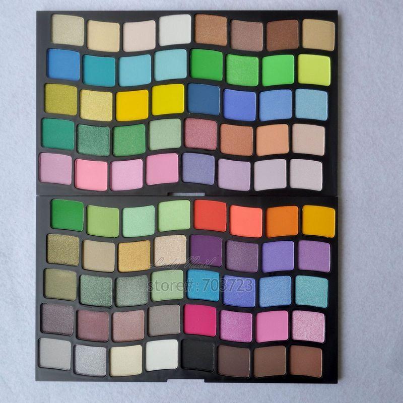Pro 80 Colors Luminous &amp; Matte Eyeshadow Palette Powder Eye Shadow Makeup Set Cosmetic Palette P80<br><br>Aliexpress