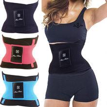 2015 Hot Body Shaper Slim Waist Tummy Girdle Belt Waist Cincher Underbust Control Corset Firm Waist Trainer Slimming Belly Band(China (Mainland))