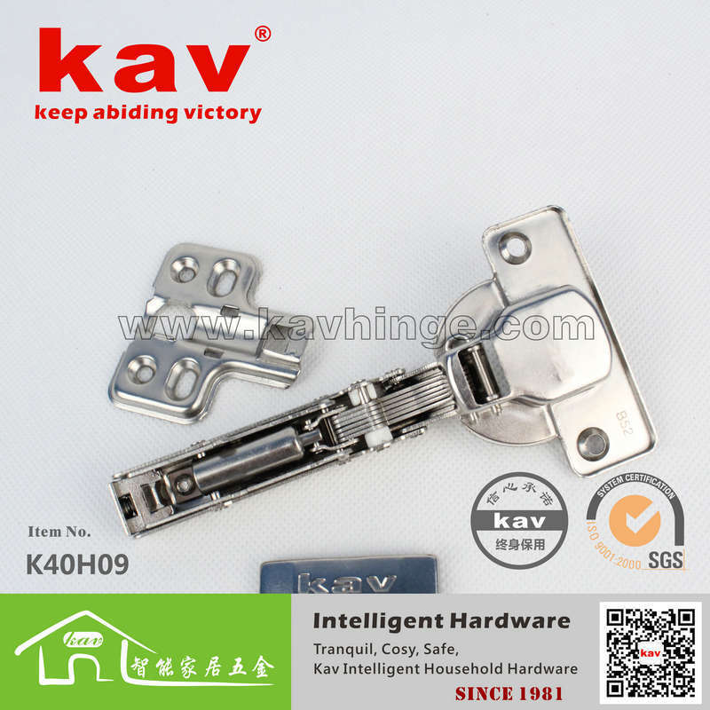 product kav Furniture Hardware 40 cups thick solid wood furniture hinge removable hydraulic door hinge Hinge