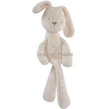 50cm Mamas & Papas baby rabbit sleeping comfort doll plush toys Millie & Boris Smooth Obedient Rabbit  Sleep Calm Doll(China (Mainland))