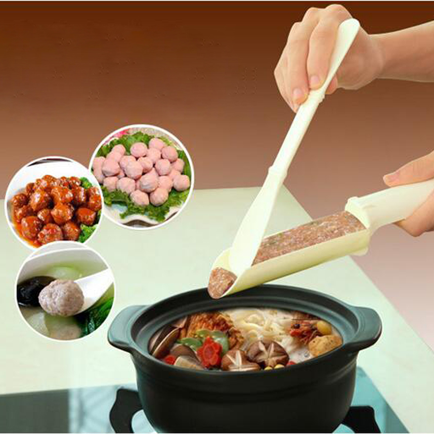 1set Convenient Meatball Patty Maker Home Kitchen Cooking Tools Poultry Lifters Meatball Fish Ball Burger Set DIY Accessories(China (Mainland))