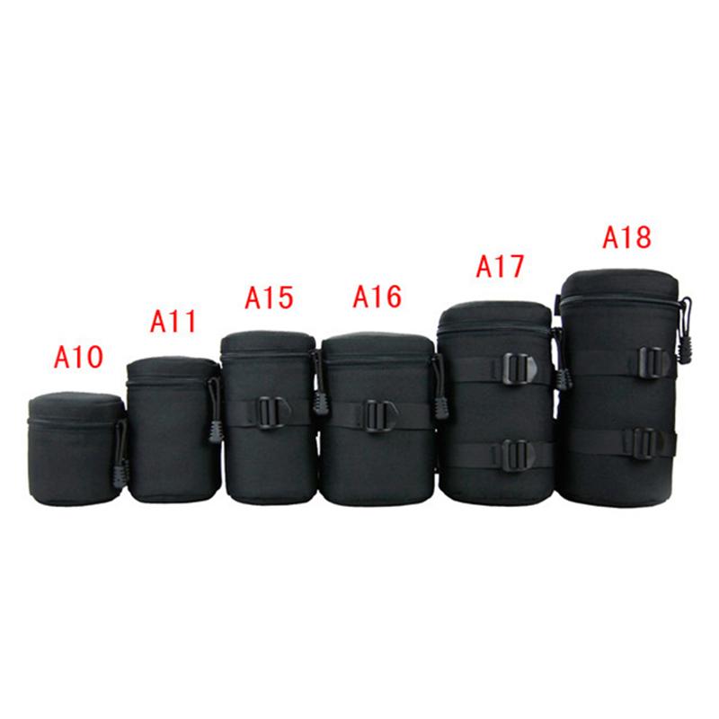 Waterproof DSLR SLR Camera Lens Barrel Bag Sleeve Thick Crashproof Pockets kit for Canon for Nikon Camera Lens Barrel<br><br>Aliexpress