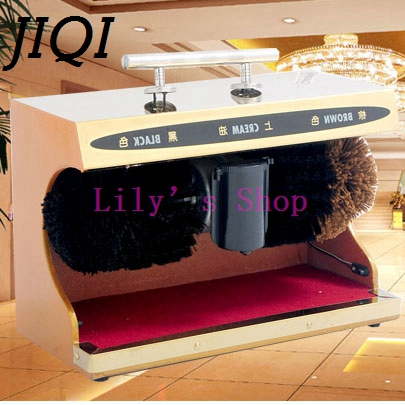 Electrical Shoes cleaner electric shoe polisher woman man Leather shoe automatic cleaning machine kit shoe brush set HOTLE home(China (Mainland))