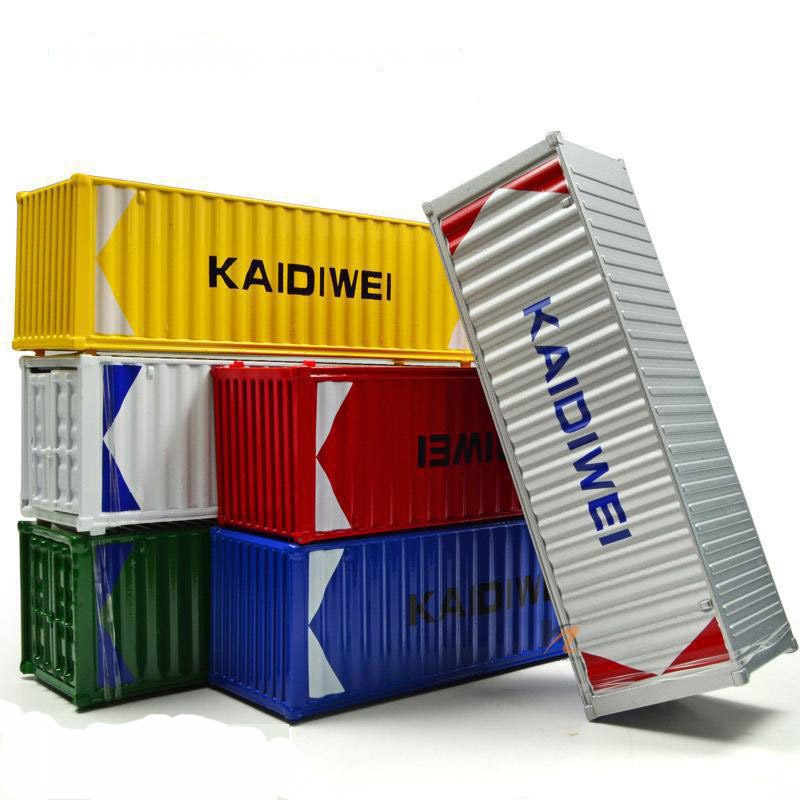 Brand Kaidiwei Alloy 1:50 Scale Oceangoing Ship Freighter Boat Container Model Six Optional Colors Ornaments(China (Mainland))