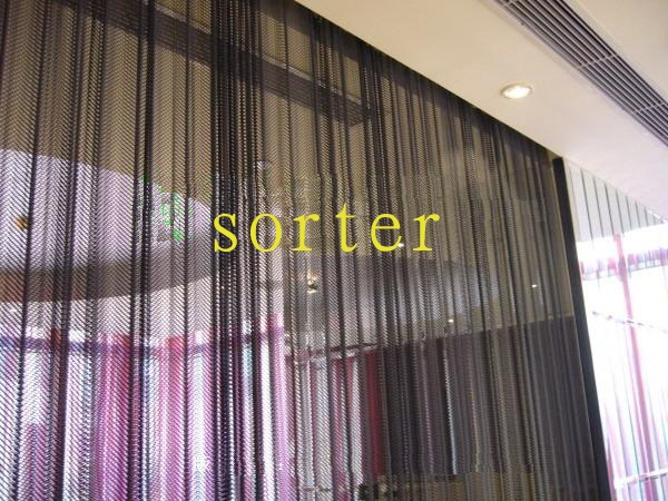 SL106 metal mesh curtain for decoration/metal drapery(China (Mainland))