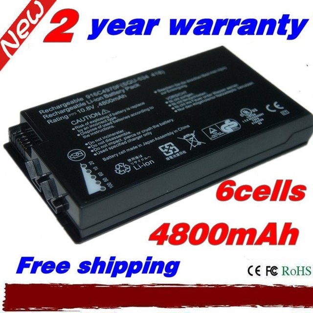 Free shipping 6cell Replacement Laptop Battery for LENOVO SQU-418 SQU-534 916C4970F R211 Hasee V2100D B363S B370S 6000I Battery