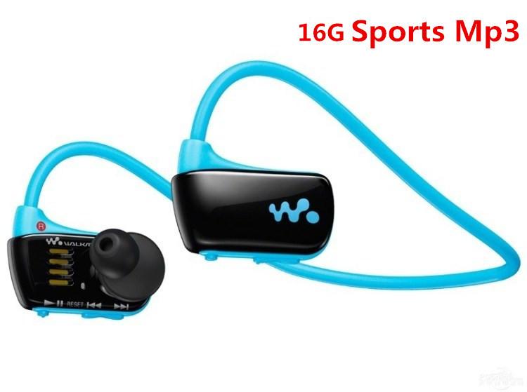 New W273 Sports Mp3 player for sony headset 16GB NWZ-W273 Walkman Running earphone Mp3 music player headphone Free shipping(China (Mainland))
