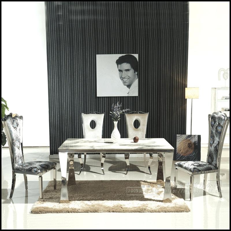 eettafel marmeren eettafel sets 4 stoelen moderne stijlvolle goedkope ...