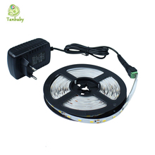 Buy Tanbaby Led strip light SMD 5630, 5730 5M 300led DC12V flexible stripe rope lights waterproof power supply EU/ US for $7.89 in AliExpress store