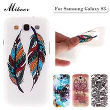 Fashion Painted Pattern TPU Silicone Soft sFor Samsung Galaxy S3 Case For Samsung Galaxy S3 I9300 Cell Phone Back Cover Case(China (Mainland))