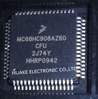 Original MC68HC908AZ60CFU 2J74Y MC68HC908AZ60 QFP64 HCMOS Microcontroller Unit(China (Mainland))