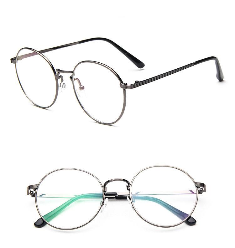wholesale metal plain glasses 2015 korean vintage style