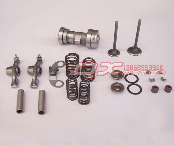 125 engine parts 125 lying rocker arm shaft cam cylinder head accessories sets(China (Mainland))