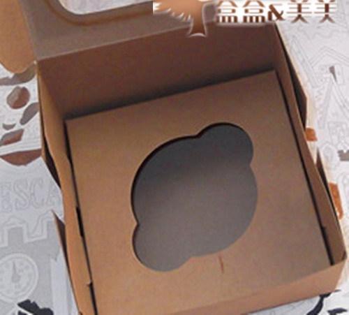 Wholesale 50pcs lot 11x11x7 5cm cupcake cake package boxes for 100 cm window box