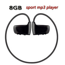 Hot High quality 8GB Sport MP3 player W262 Stereo Headset MP3 headphone walkman mp3 player(China (Mainland))