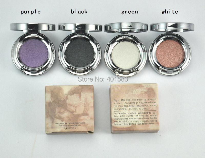 Hot Selling Brand New Cosmetics Nake Eyeshadow 1.5G Single Color nkd Makeup Eye Shadow Palette ,free shipping(China (Mainland))