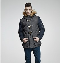 Viishow Winter Jacket Men Wool Coat Famous Brand Wool Jacket Outwear Trench Coat Parkas Trench For Men(China (Mainland))