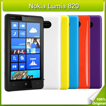 Refurbished Original Nokia Lumia 820 Unlocked Smartphones Windows Phone Cell Phone 8GB ROM 4G LTE Network NFC