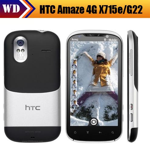 G22 Original HTC G22 T-Mobile Amaze 4G X715e WIFI 8MP Bluetooth GPS Unlocked Phone Free Shipping(China (Mainland))