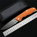 Good quality tabargan 95 folding knife D2 blade G10 handle outdoor survival camping hunting tactical pocket