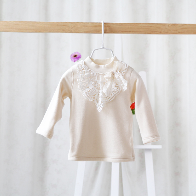 Free shipping,2015 New,Girls lace princess t shirts tees,Children top,long sleeve,bow,wholesale 150174<br><br>Aliexpress