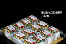 Free shipping  Mouth Coils - Color and white  - Paper 12pieces magic prop magic toys(China (Mainland))