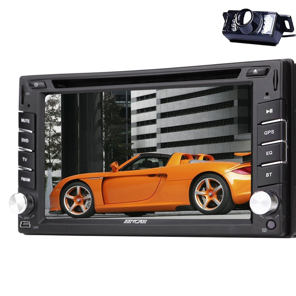 acheter eincar 6 2 dvd de voiture st r o avec multi cran tactile 2 din gps. Black Bedroom Furniture Sets. Home Design Ideas