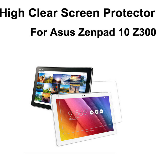10pcs/lot High Clear Screen guard film for Asus Zenpad 10 Z300,screen protector cover skin for zenpad z300,OPP bag packing<br><br>Aliexpress
