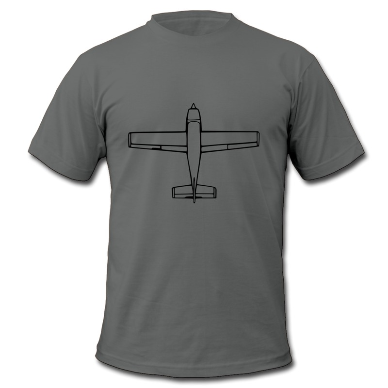 Solid Shirt Man Private airplane for joy flights Creat Own 100% Cotton TeeShirts for Man(China (Mainland))