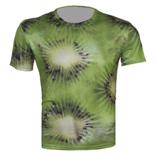 New 3D Clothes Tops Fruit Green Lemon Print Unisex T Shirt Women/Men Brand Design Funny Pattern T-Shirt Sport Dry Quickly TShirt