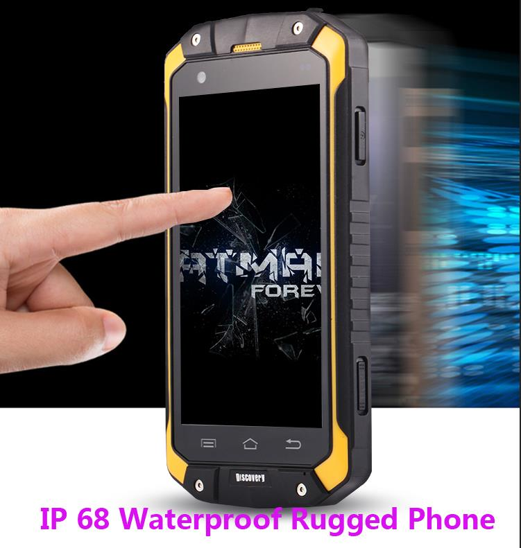 Unlocked original Discovery V9 rugged Smartphone IP68 Waterproof phone GPS Shockproof Android 4 4 4000Mah Z6