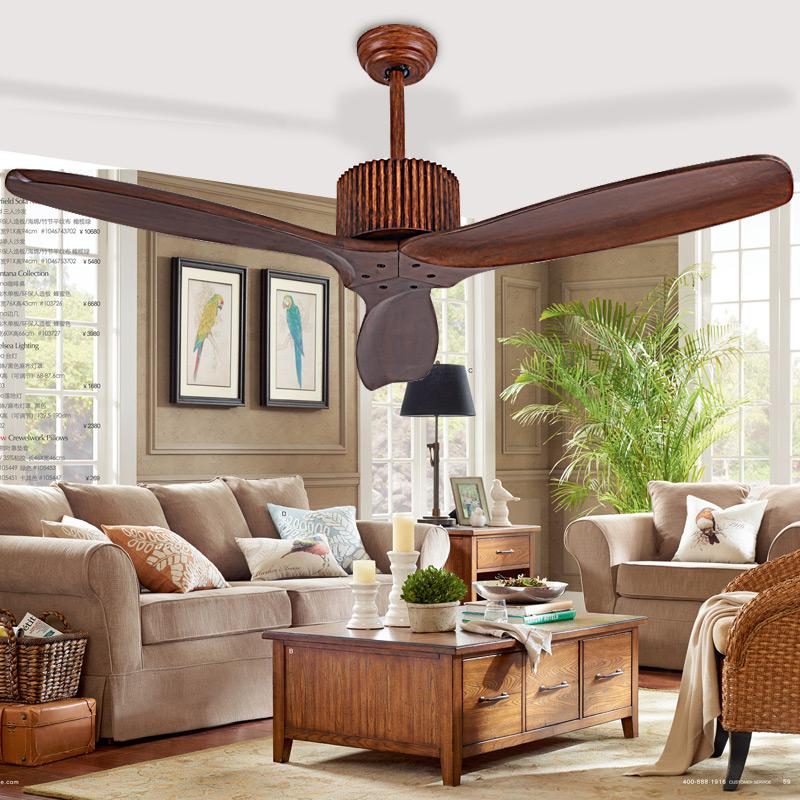 Achetez en Gros ventilateur de plafond en bois en Ligne à
