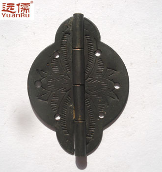Ming and Qing antique furniture, copper fittings copper brass hinge hinge closet pan skin YRF230(China (Mainland))