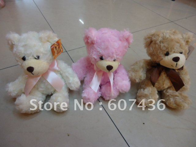 21 piece/lot 3 kinds of color lovely NICI tie the bear