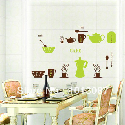 Wall stickers kitchen diy wall decal magic kitchen sticker - Kitchen wall stickers decor ...