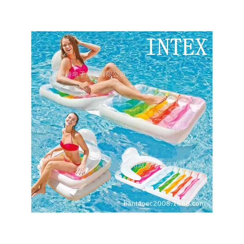 new arrival INTEX water lounge, water sofa 198*94cm air mattress, water play toy, relaxing<br><br>Aliexpress