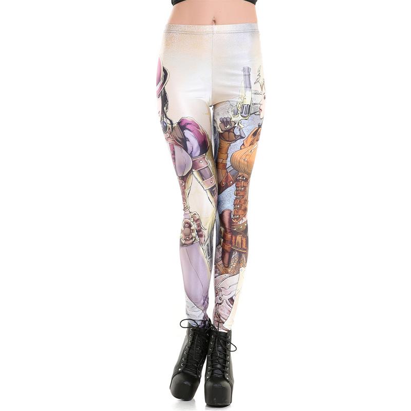 Hipster 2016 Fashion Leggings Sailor Moon Digital Printed Plus Size Leggings For Women Fitness Pants New Arrival LG109(China (Mainland))