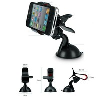 Universal Cars Windshield Mount Phone Holder For iPhone 6 plus 5S 5C 4S GPS Accessories for samsung xioami Support For Phones(China (Mainland))