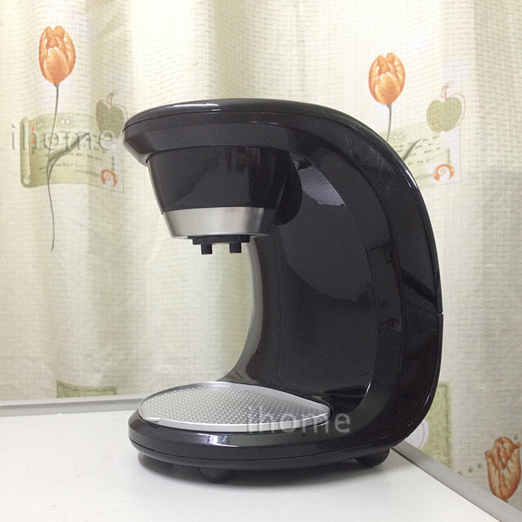 High Quality 2 Cups Black Color Coffee Machine Without Ceramic Cup American or Nescafe Drip Coffee