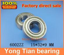 Buy High deep groove ball bearing 6002ZZ 6002 Z 6002Z 6002-2Z 80102 15*32*9mm 20pcs/lot free ) for $20.00 in AliExpress store