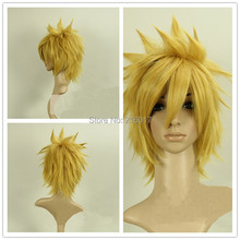 Free Shipping Japanese Anime Figures Laxus Dreyar Luxus Dreyar Cosplay Costume Wig Fairy Tail Synthetic Hair Natural Wigs(China (Mainland))