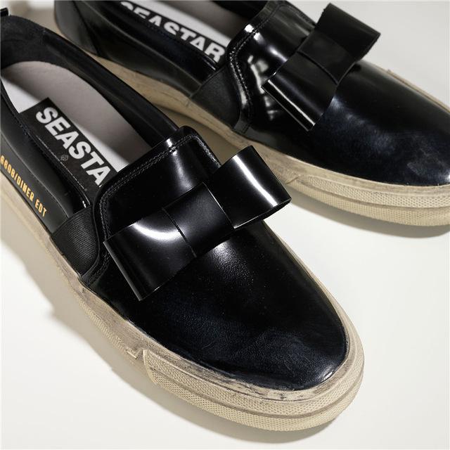 2015 Italy Luxury Brand Golden Goose Men Casual Shoes Women Handmade Comfortable Low Slip On Black GGDB Superstar Shoes Scarpe