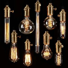 Retro Incandescent Vintage Light Bulbs ST64 G95 DIY Handmade Edison Bulb Fixtures,E27/220V/40W lamp Bulbs For Pendant Lamps(China (Mainland))