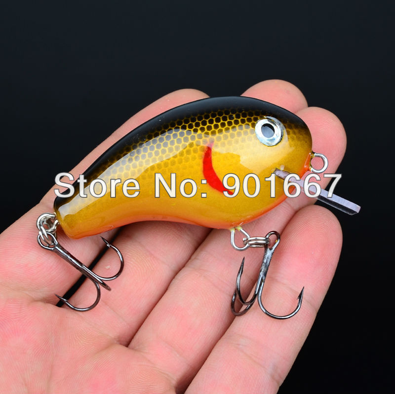 New Design tremendous Wood Crankbait Wood Fishing Lures Exported to USA Market Fishing Tackle 7cm/17.7g Wood Lure Retail Box(Hong Kong)