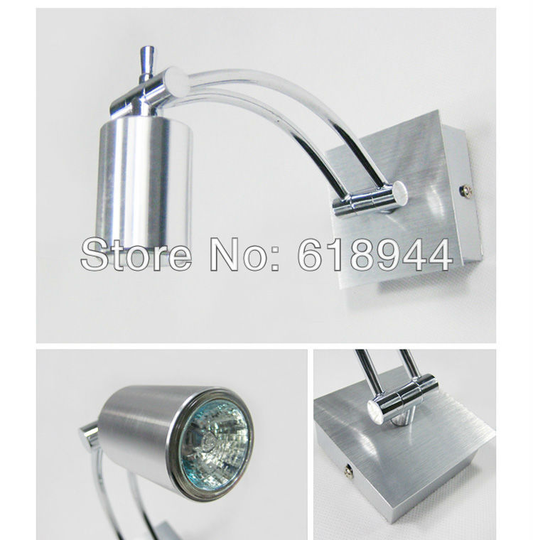 Fashion Modern Brief Aluminum Waterproof Bathroom Mirror Light Bathroom Light Background Lights