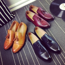 New Loafers Men Oxford Flat Shoes Top brand Men Moccasins Shoes Wedding Leather Men Shoes Casual zapatos hombre P146(China (Mainland))