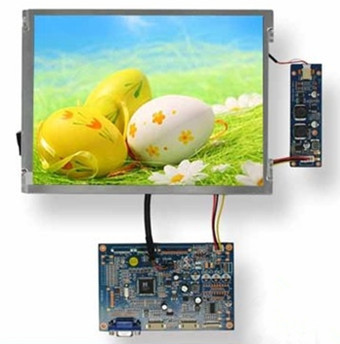 VGA / VIDEO Drive Board + 10.4 inch TFT LCD Resistive Touch Screen (TP) 800(RGB)*600 (NTSC / PAL System)(China (Mainland))