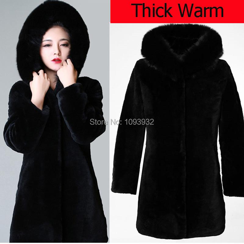 Long Coat With Fur Hood