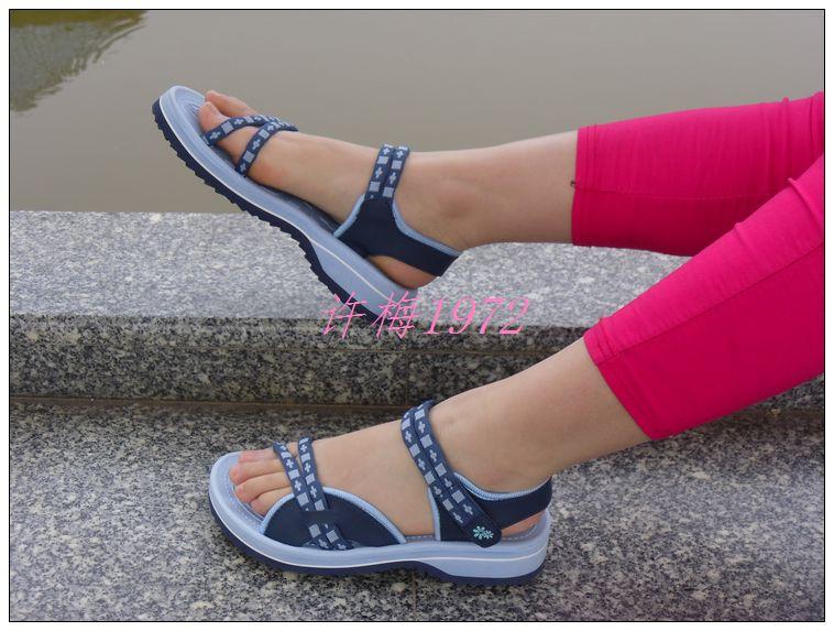 Authentic Vietnam Summer Shoes Women Fashion Leisure 2016 autumn Female Beach Sandals Floral Print Sandalias Mujer